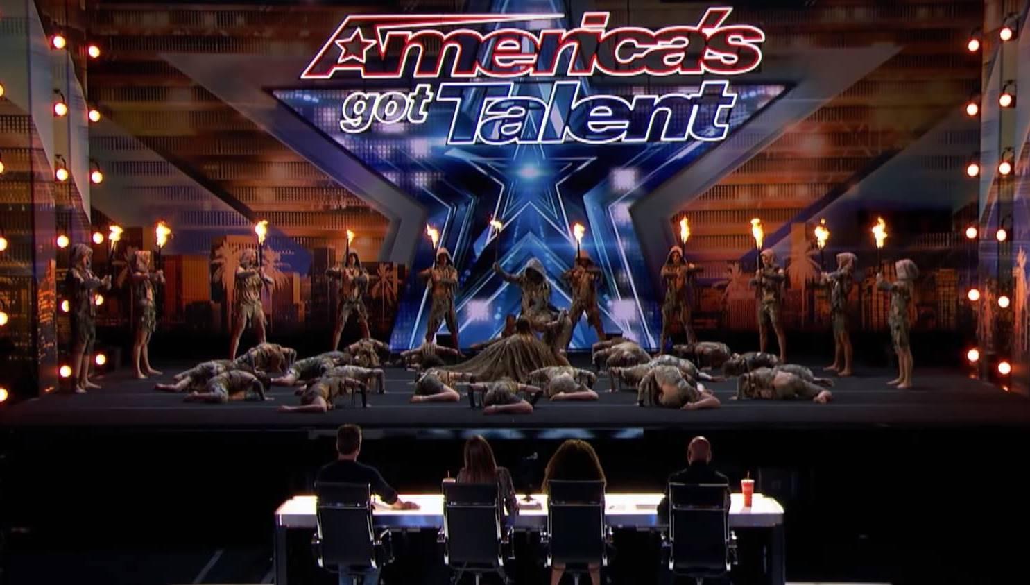 grupo liderado brasileiro america got talent