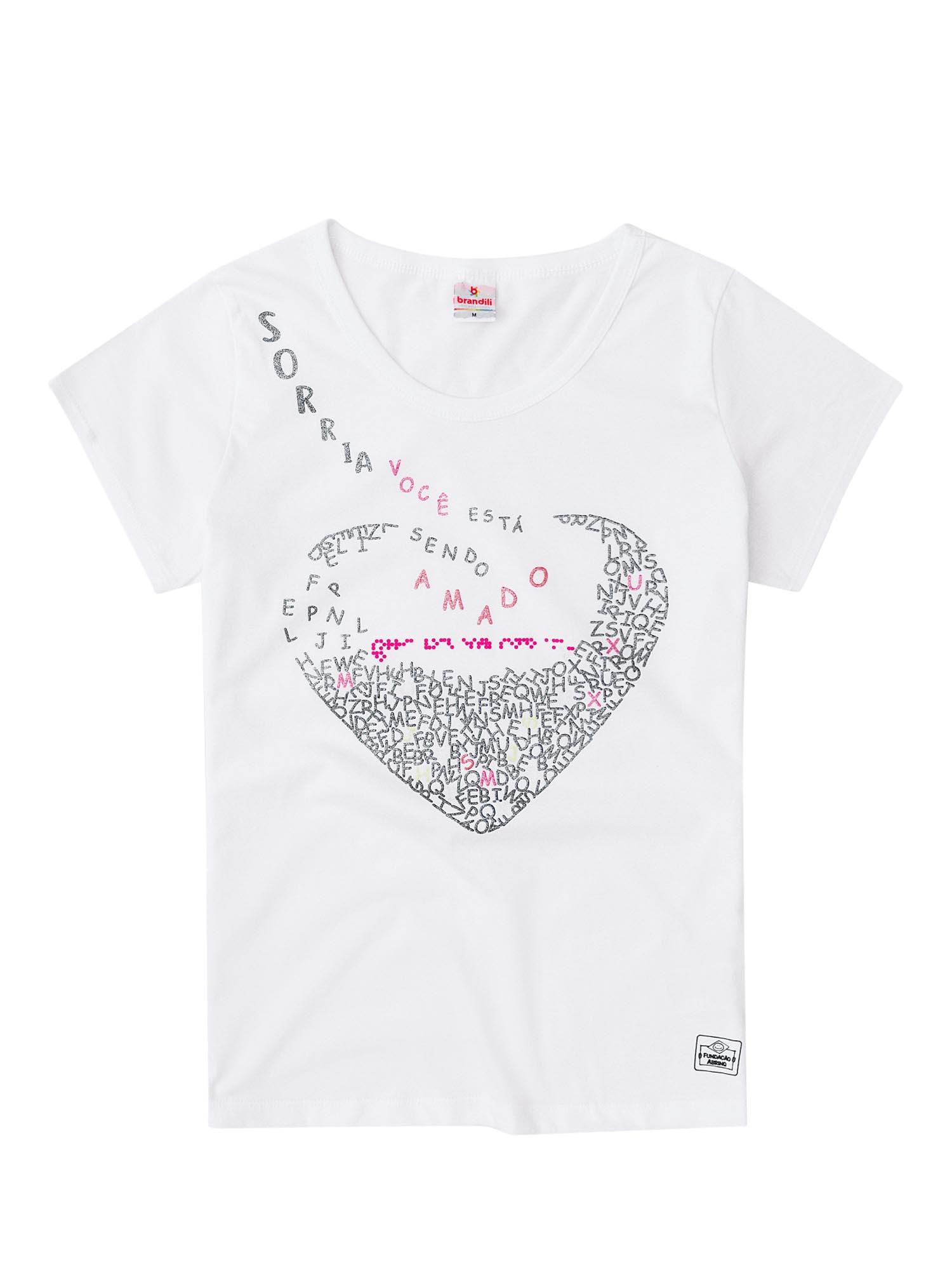 camiseta braile brandili