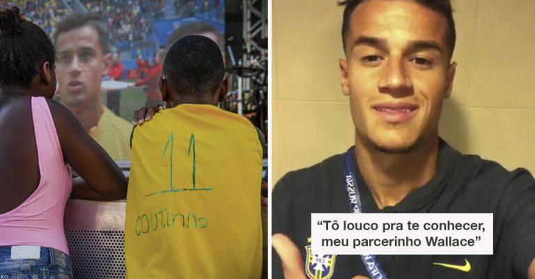 Philippe Coutinho manda video