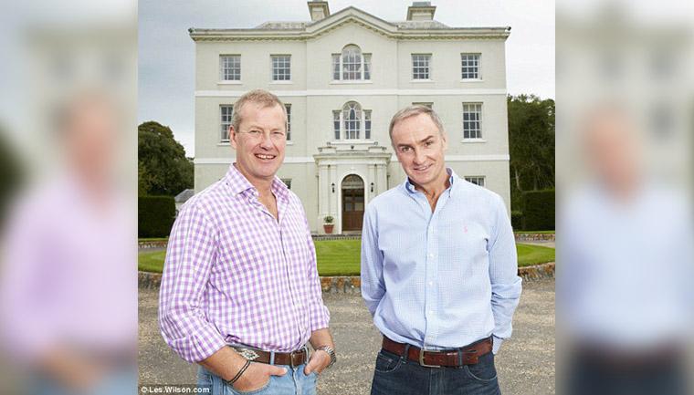 homens casamento gay família real britânica