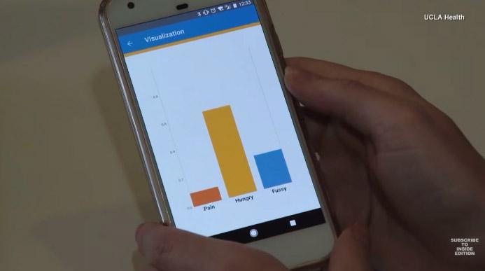aplicativo pais deficientes auditivos choro bebê