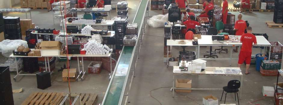 detentos produzem pelas eletroeletrônicas presídio santa rita sapucaí