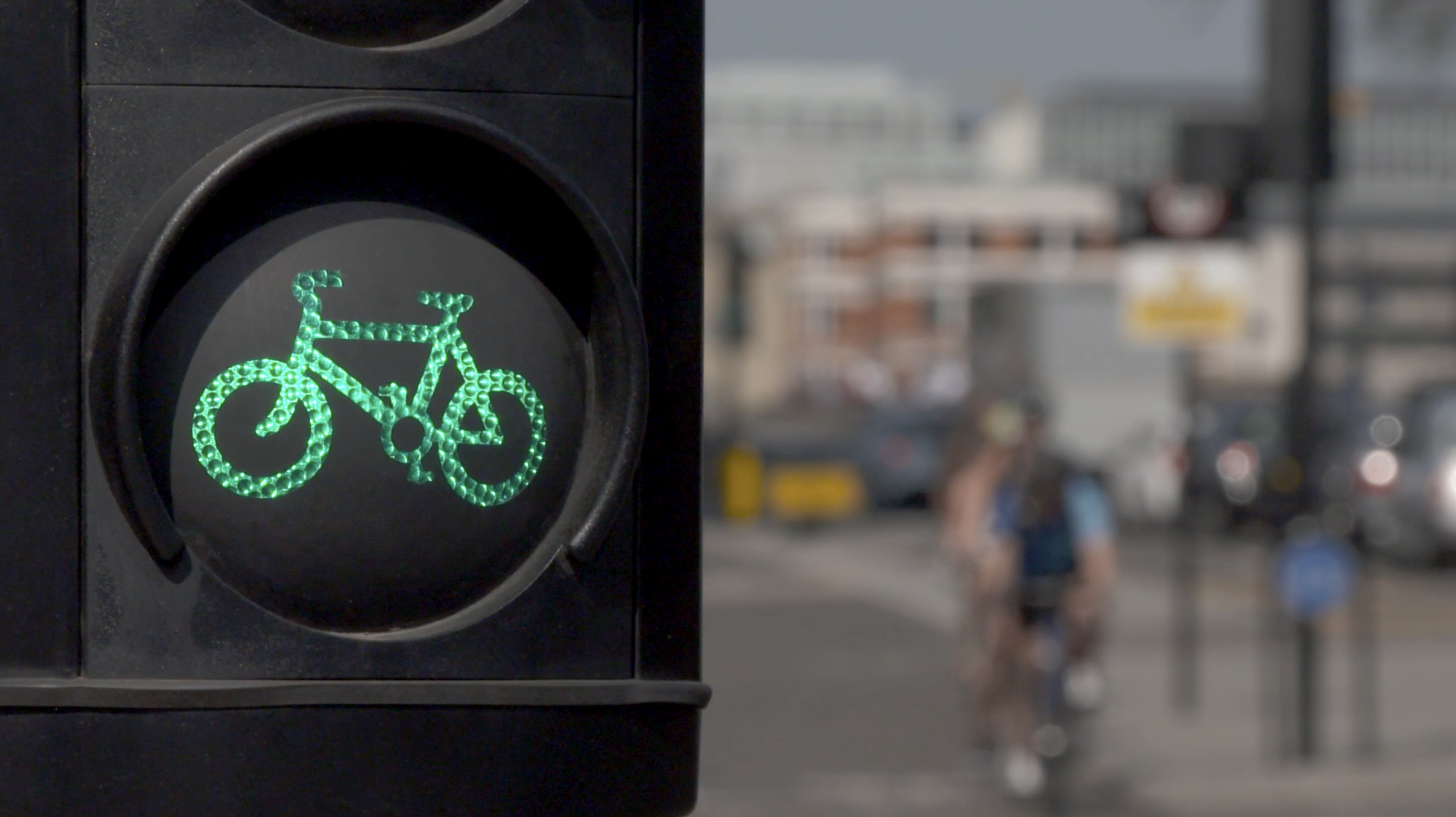 semáforo cilistas