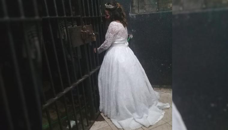 noiva abandona casamento ver irmão preso