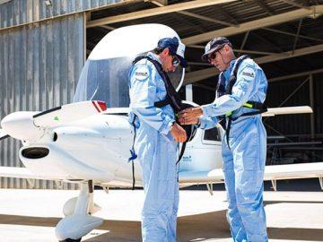 pilotos avião resgatar imigrantes