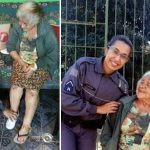 soldado idosa