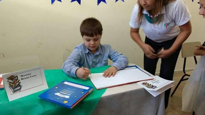 crianças autores mirins livros