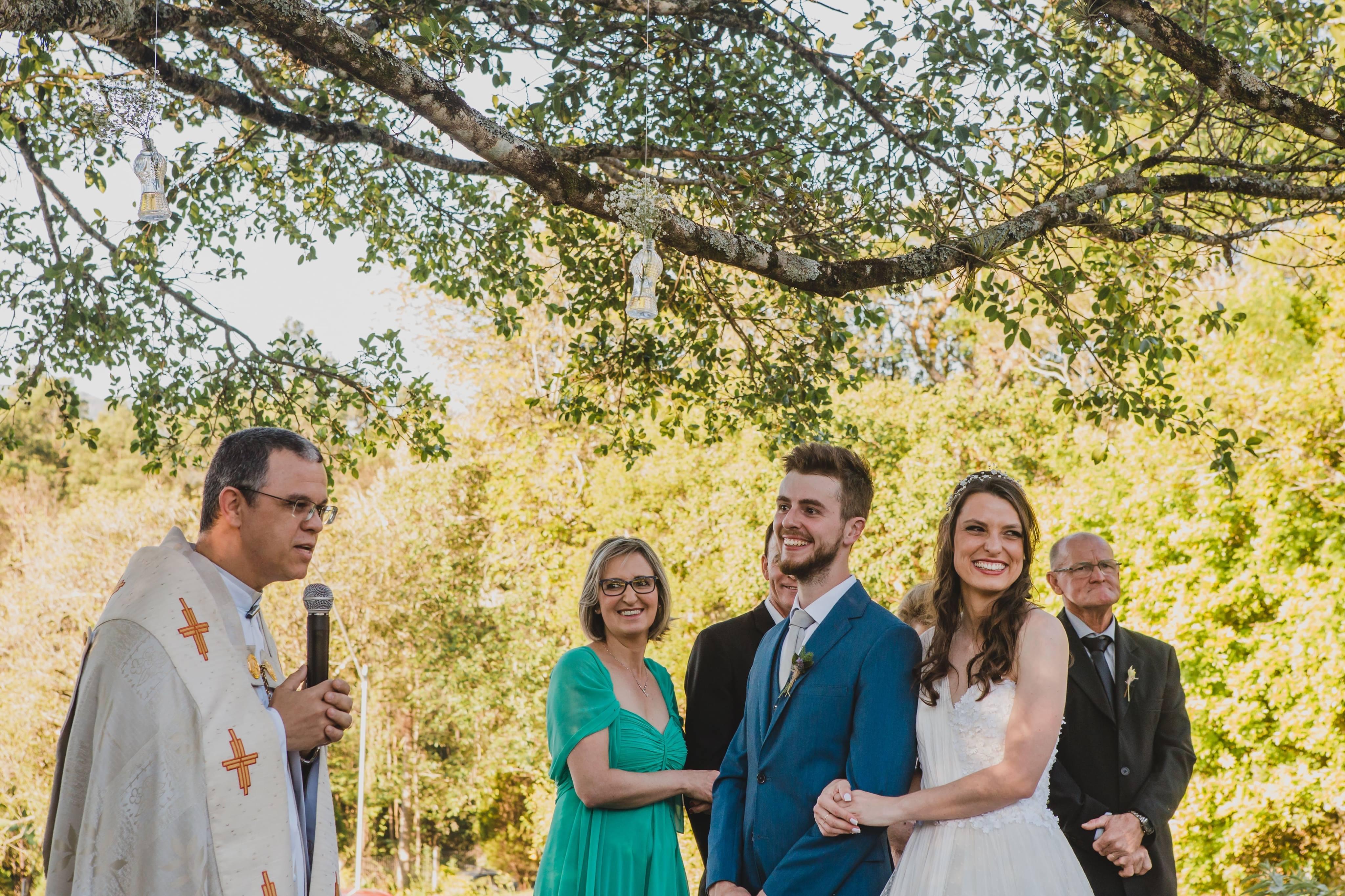 Casal remarca o casamento por causa da amizade com seus dois cavalos 3