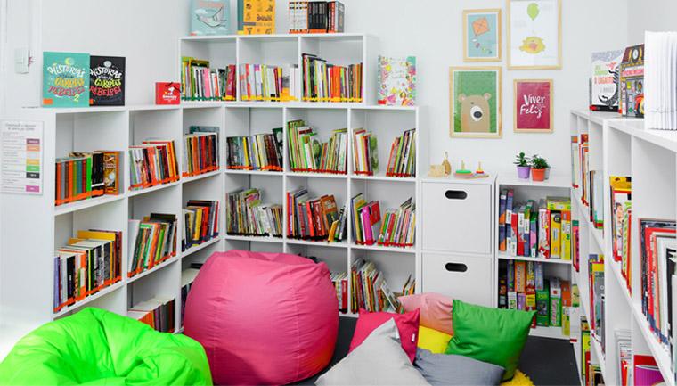 biblioteca catadores de material reciclável