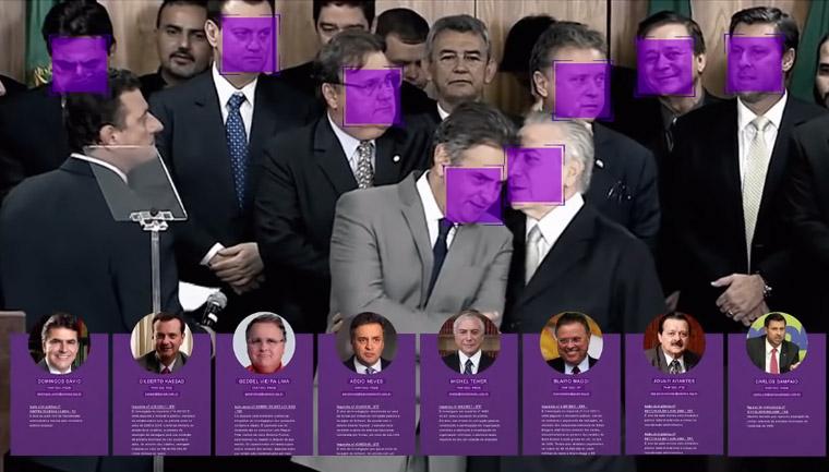 aplicativo detecta políticos corruptos