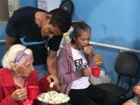 moradores de rua reformam asilo