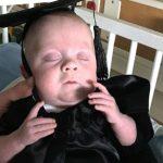 bebê sai uti formatura