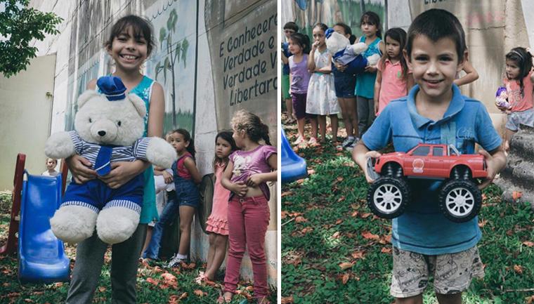 projeto conserta brinquedos estudantes doa crianças carentes