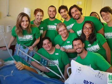 projeto cantareiros música pacientes hospitais