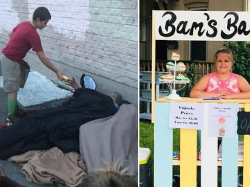 Menina vende cupcakes para ajudar moradores de rua