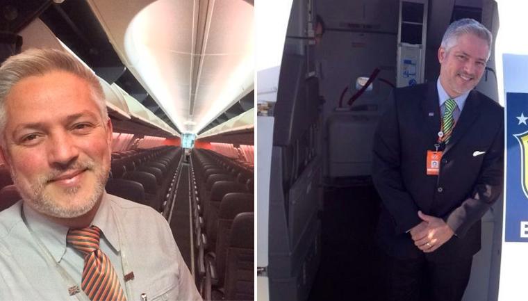 funcionário gol antecipa voo homem transplante rim