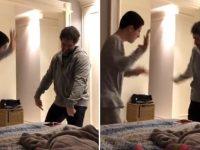 vídeo marcos mion dançando filho autista