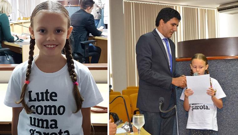 menina repreende mudança nome cmei Menina de 8 anos repreende mudança do nome da Cmei Arco-Íris