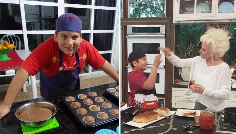 garoto perde celular vira mini chef para comprar aparelho novo