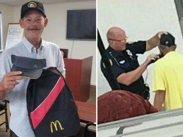 sem-teto que policial fez barba começa trabalhar mcdonald's