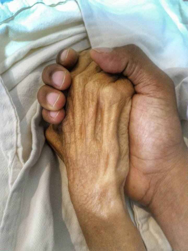 companheirismo filho salvou mãe câncer fratura fêmur avc