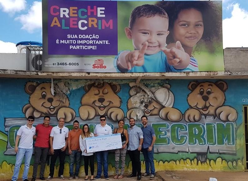 Feijoada open bar doa lucro creche Distrito Federal