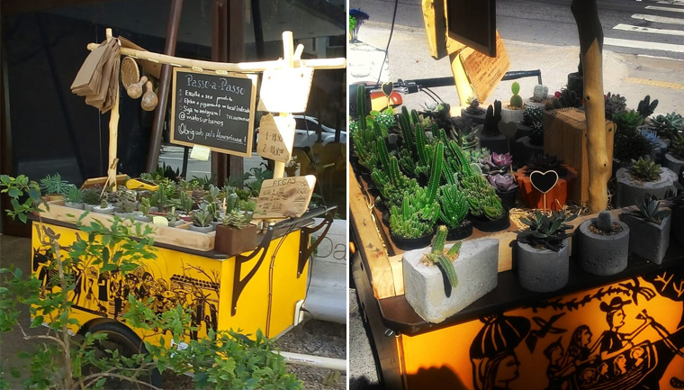 bike floricultura sem vendedor