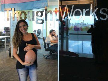 empresa contrata grávida 9 meses