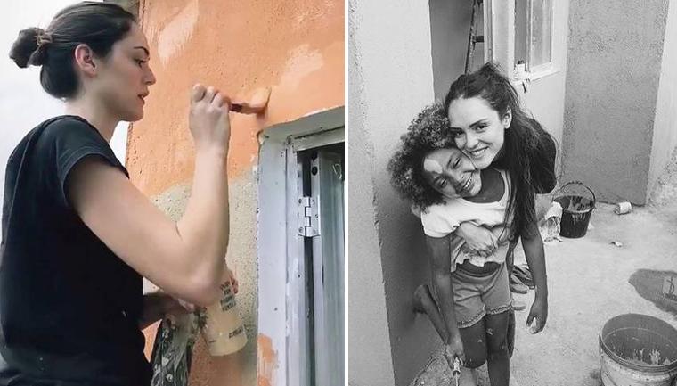 isabelle drummond reforma casa família carente