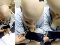Vídeo menino agradecendo medula irmã emociona