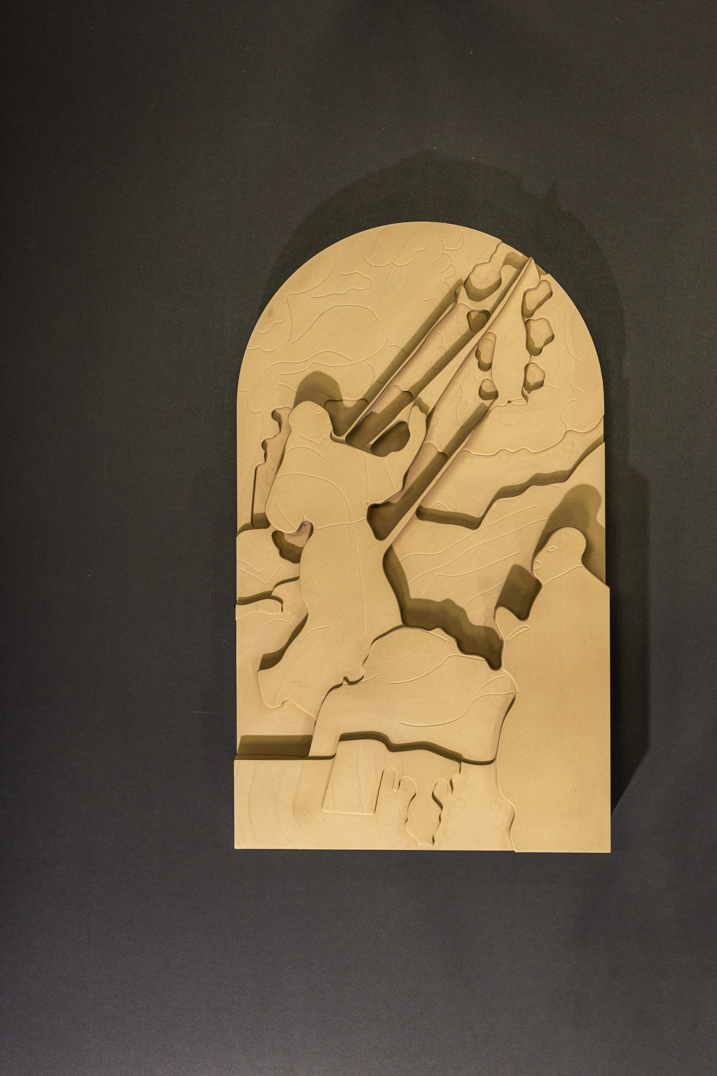 exposição quadros são francisco 3D deficientes visuais