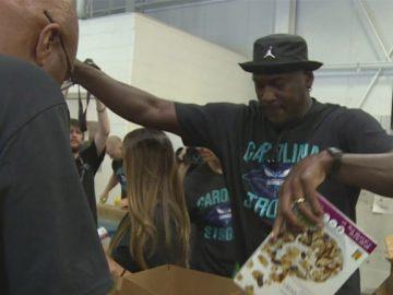 Michael Jordan doa mais 8 milhões vítimas Florence