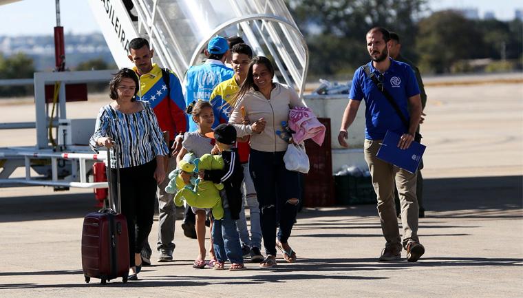 município gaúcho pede receber imigrantes venezuelanos