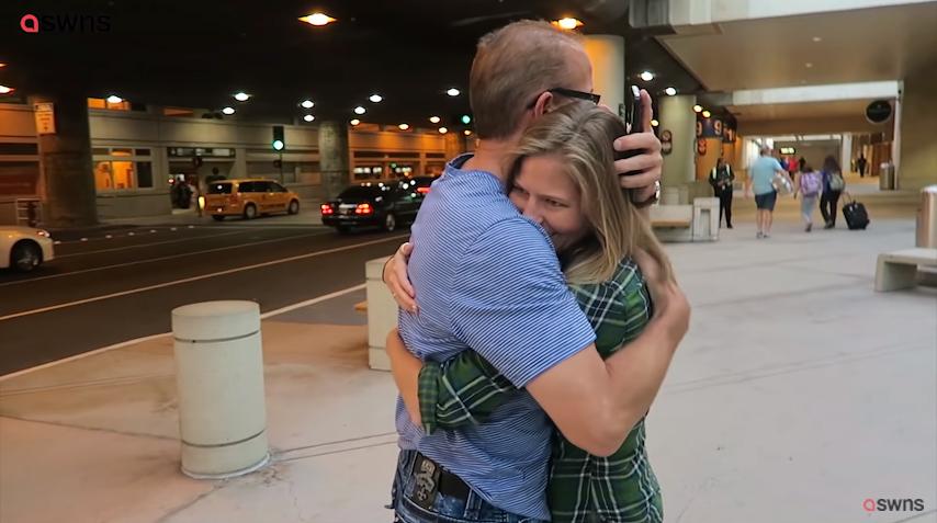 pai biológico conhece filha após 31 anos