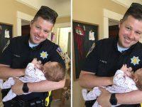 policial adota bebê sem-teto usuária drogas