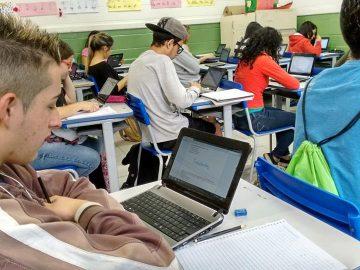 Google leva tecnologia e eficiência para salas de aula noBrasil 1