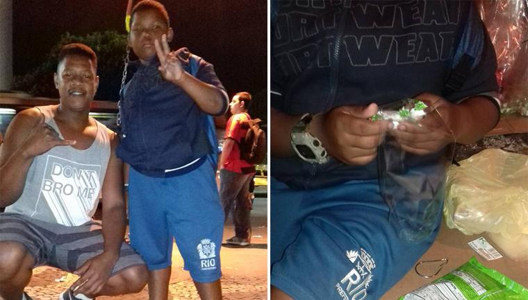 Ambulante ensina garoto vender balas ajudar mãe