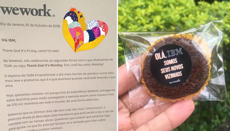 empresa desculpa vizinhos barulho reforma chocolate