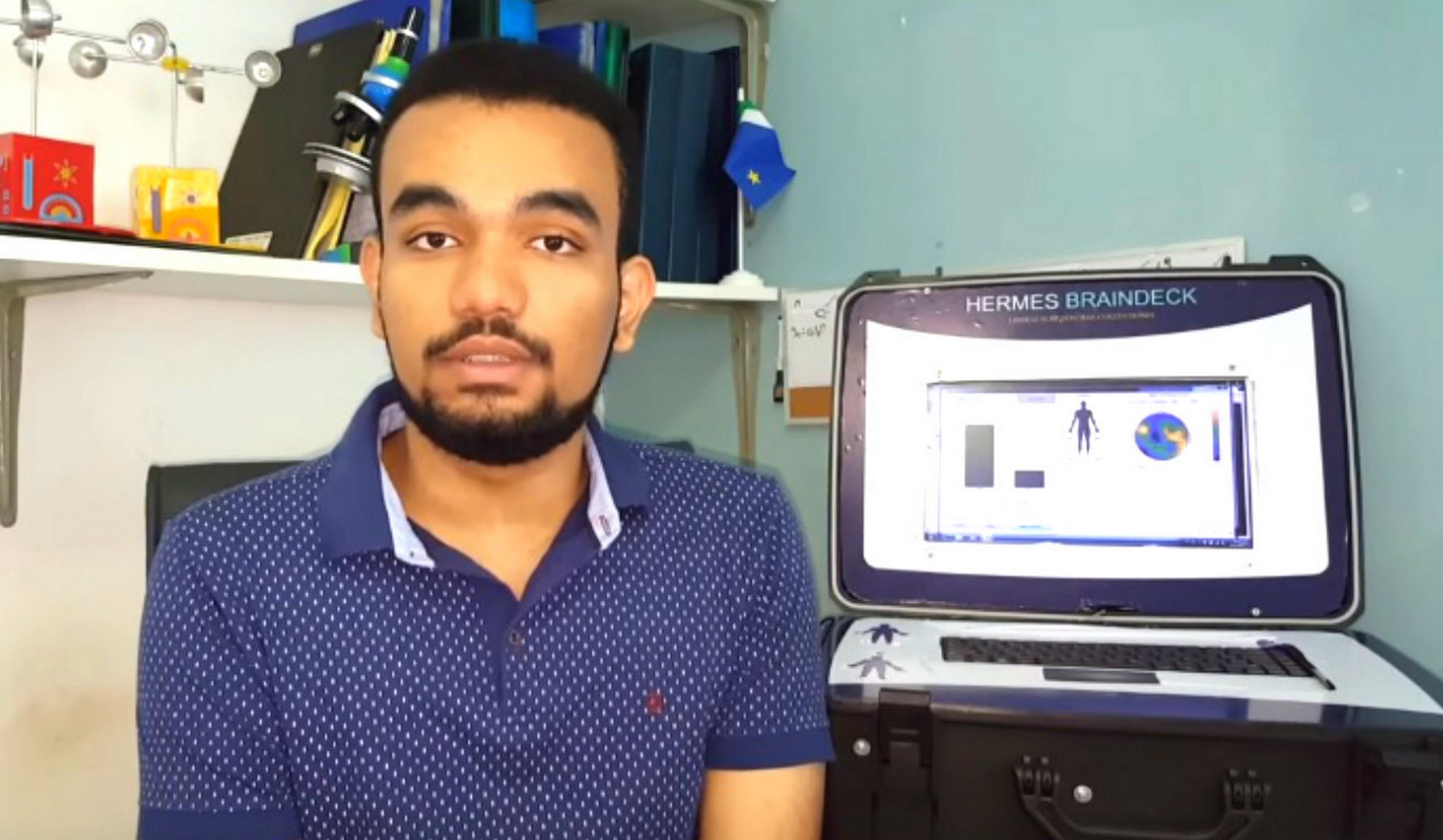Brasileiro de 20 anos cria sistema de comunicação com pacientes em coma 1