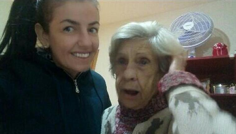 cuidadora rebate críticas amizade com idosa com mais amor