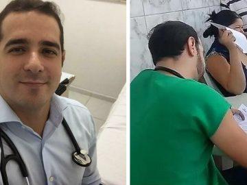 Médico fica depois do plantão para atender paciente idosa que aguardou horas em fila 1