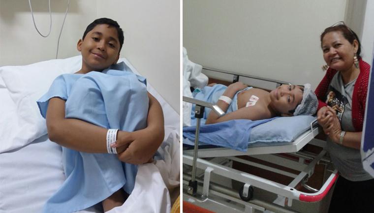 médica festinha aniversário surpresa menino troca sangue
