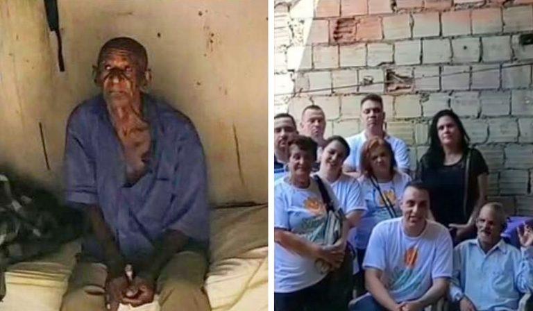 moradores constroem casa vendedor picolé