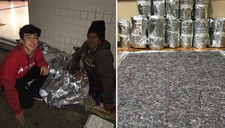 miniempresa alunos cobertor moradores rua curitiba