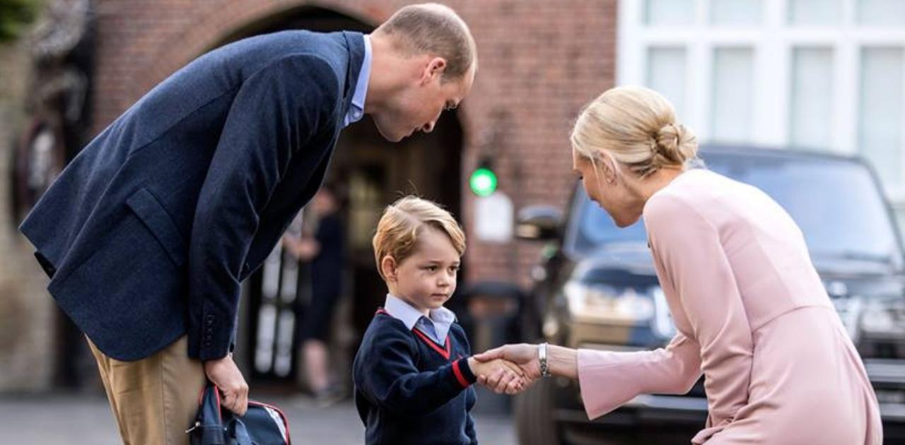 Príncipe George está fazendo aulas de balé e amando, diz William