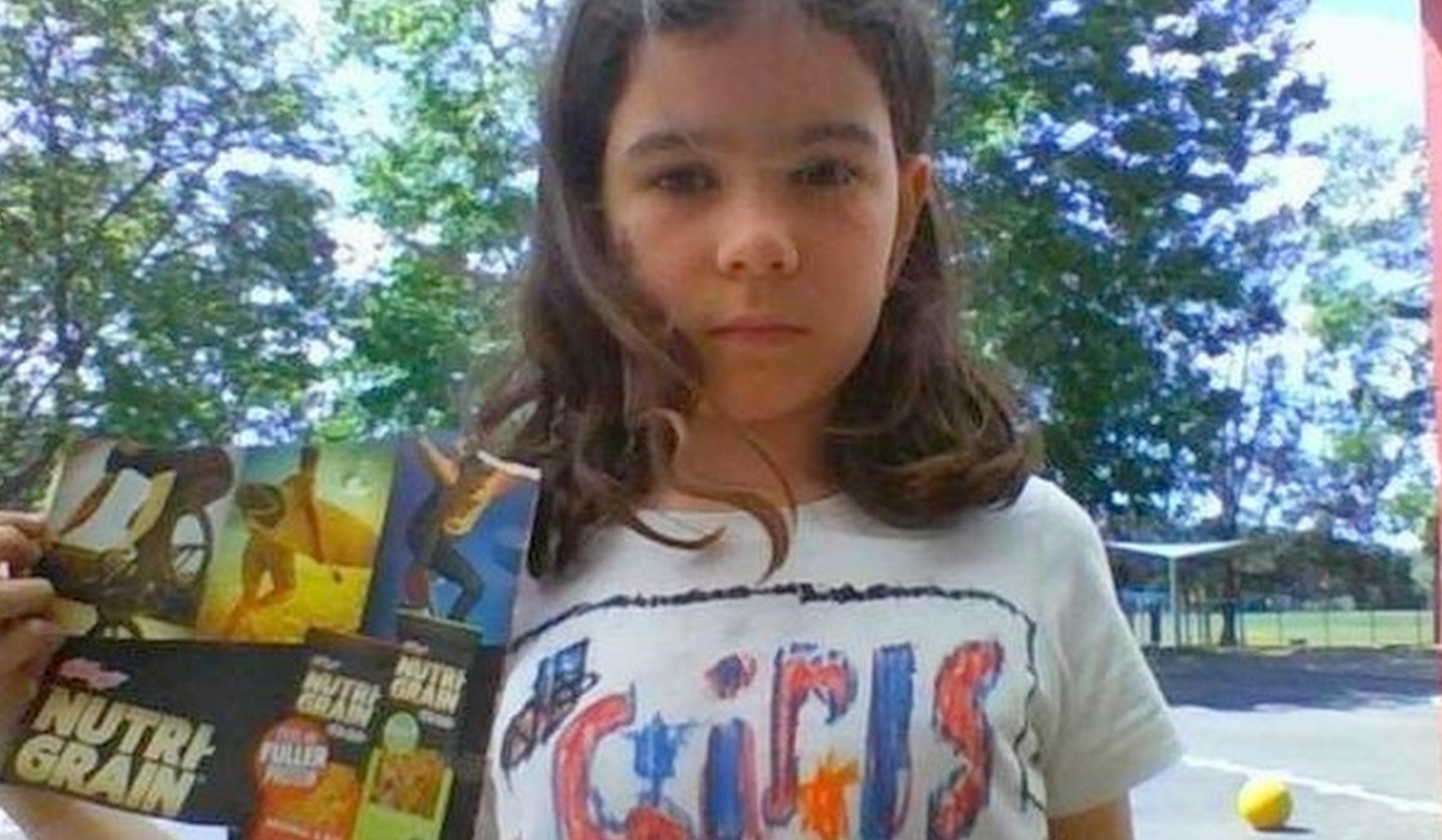 Menina de 8 anos faz marca de cereais incluir mulheres em embalagem 1
