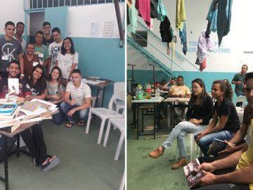 estudantes promovem leitura presos viçosa minas gerais