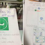 estudante manual avó namorada mexer whatsapp