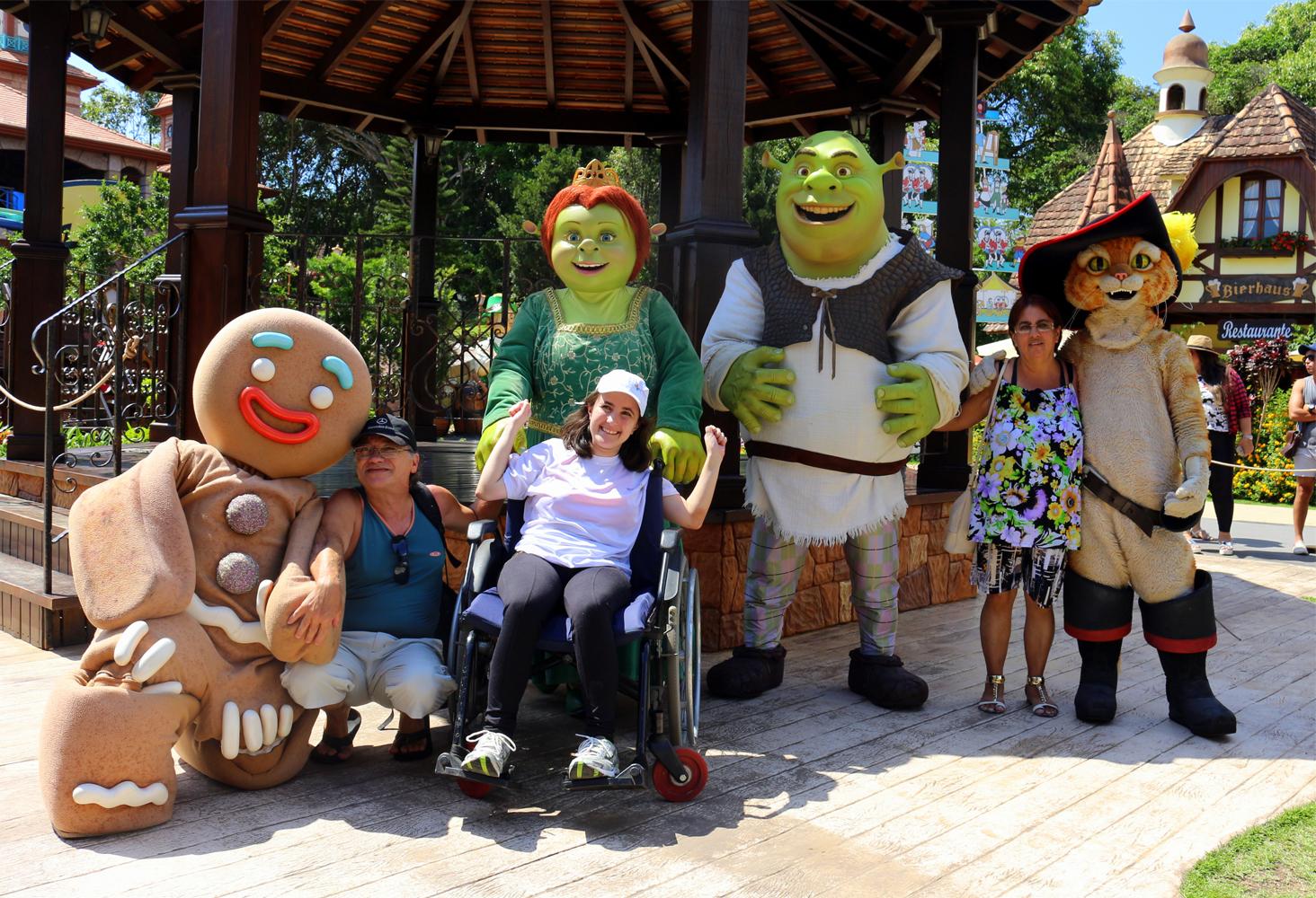 betp carrero world recebe pais filhos deficiência
