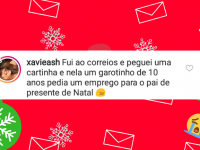 cartinhas ao Papai Noel